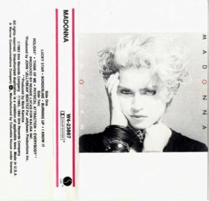 MADONNA- USA (Columbia House) CASSETTE ALBUM